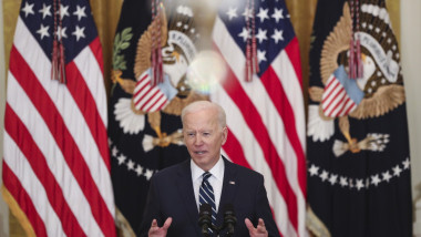 Joe Biden la conferință de presă