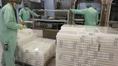 Fabrica din Italia unde are loc umplerea şi împachetarea dozelor de vaccin anti-COVID produs de AstraZeneca