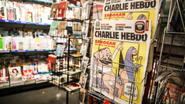 Turkey Launches Investigation Against Charlie Hebdo Over Erdogan Cartoon