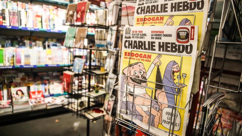 Turkey Launches Investigation Against Charlie Hebdo Over Erdogan Cartoon