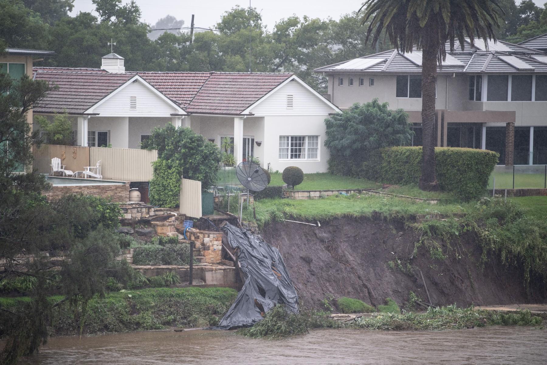 Floods in Sydney, Australia - 23 Mar 2021