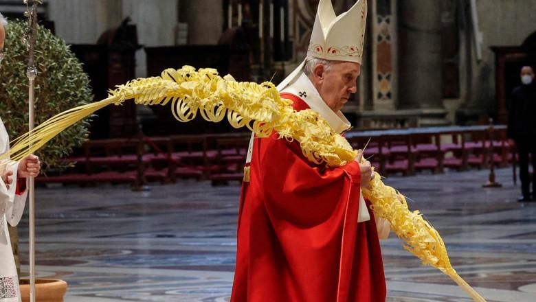papa francisc florii