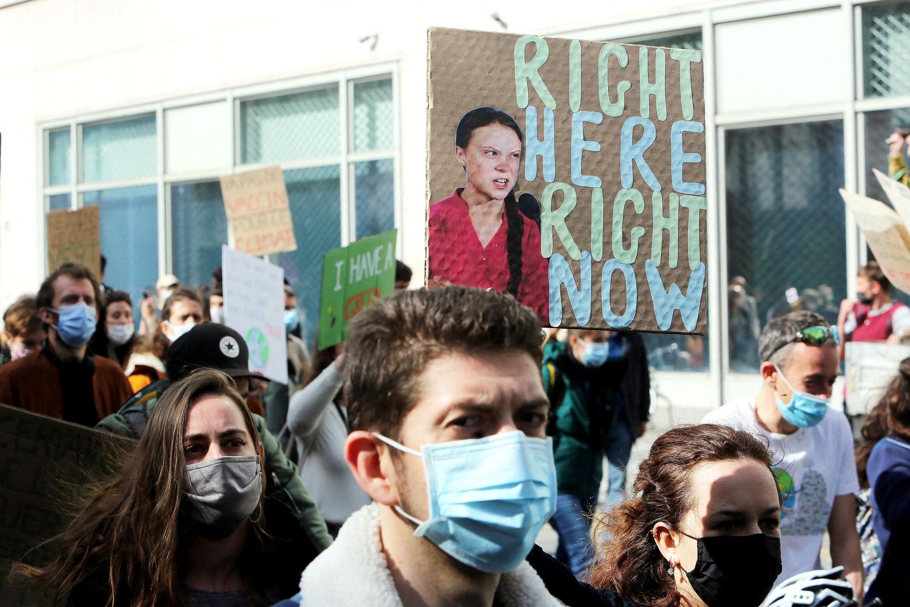 Marche pour une vrai loi climat ŕ Paris