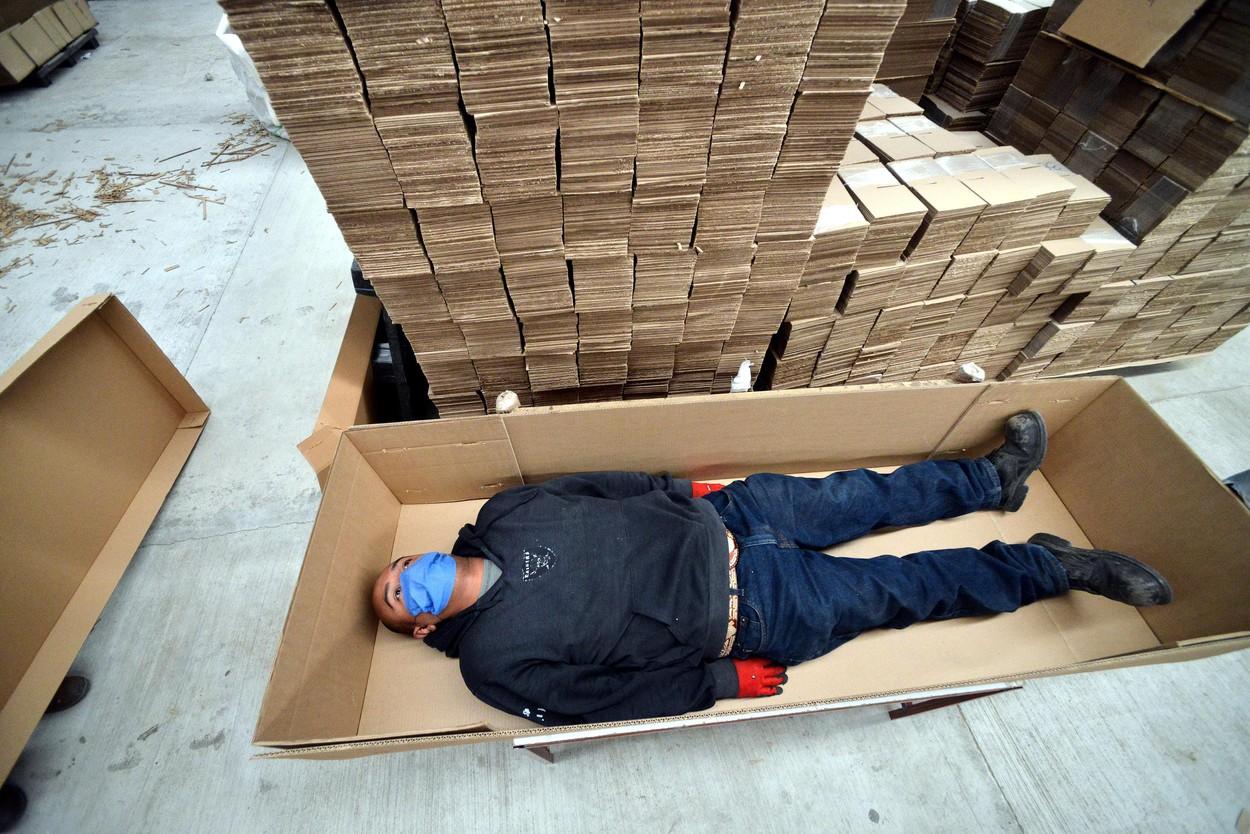Mexico Cardboard Casket Production