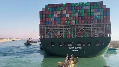 Nava Ever Given, eliberată și repusă în circulație