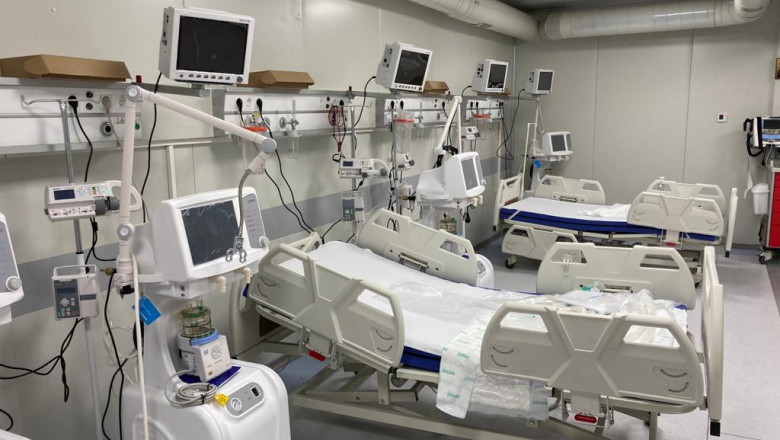 O nouă secție de terapie intensivă la Spitalul Piatra Neamț
