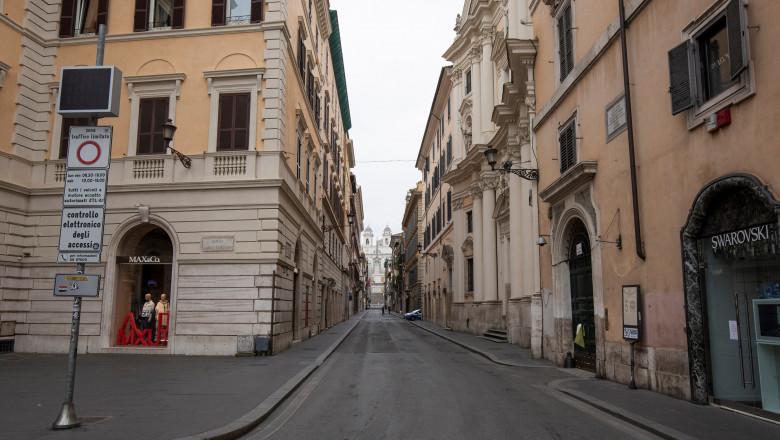 Coronavirus in Italy: emergency lockdown in Rome