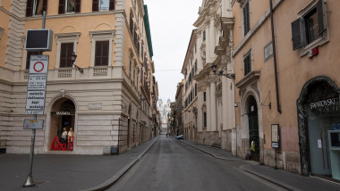 Coronavirus in Italy: emergency lockdown in Rome