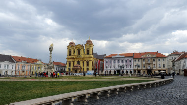 Timisoara. Piata Unirii.