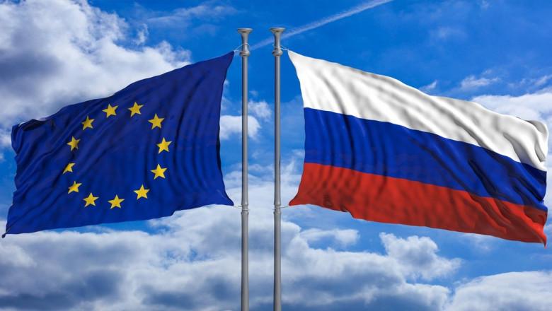 steagurile rusiei si uniunii europene