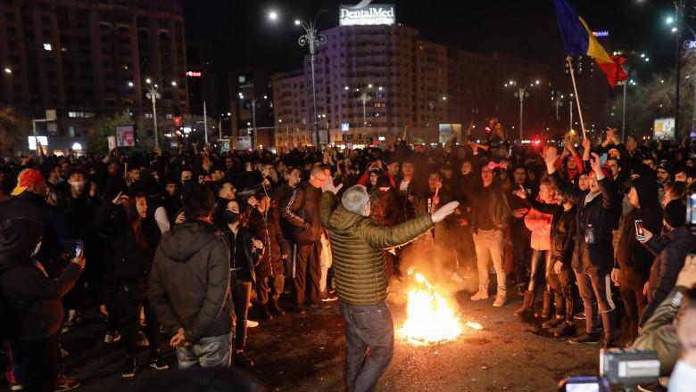 protestatari bucurești