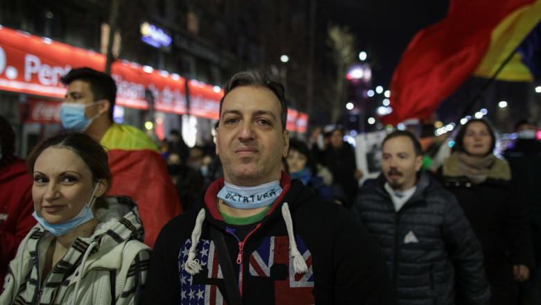 PROTEST_MASCA_366_INQUAM_Octav_Ganea