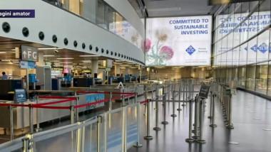aeroportul din viena fara calatori aprilie 2021