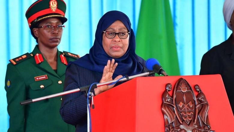 Noul președinte al Tanzaniei, Samia Suluhu Hassan