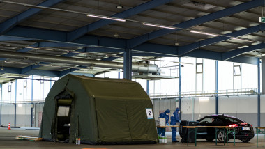 Bundeswehr Supports Coronavirus Efforts In Saar State