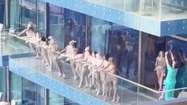Arestări în Dubai după ce mai multe femei au pozat goale la balcon