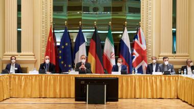 Întâlnire a reprezentanților țărilor care au semnat acordul nuclear cu Iranul în 2015