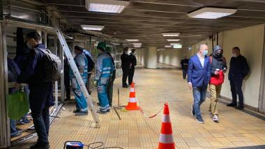 spatii comerciale demolate la metrou stefan cel mare