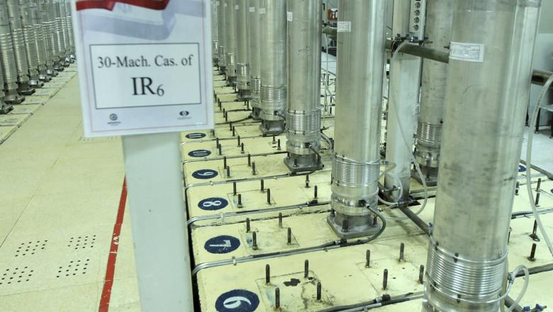 Instalaţii iraniene pentru îmbogăţirea uraniului