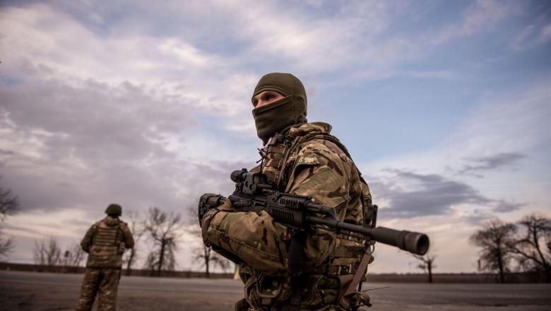soldat in ucraina rusia