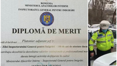 politist arestat cu diploma