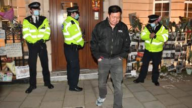 Ambasadorul Myanmar la Londra, Kyaw Zwar Minn
