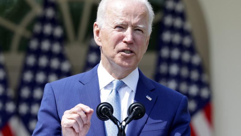 Joe Biden, discurs în Rose Garden
