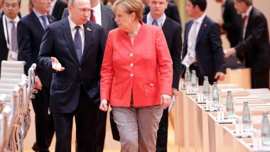 Merkel și Putin