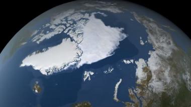 gheata arctica nasa