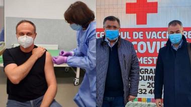 deputati moldoveni vin in romania sa se vaccineze - agora