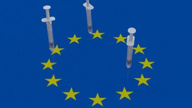 steagul ue cu seringi de vaccin anticovid