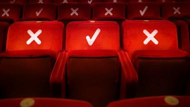 sala de teatru goala