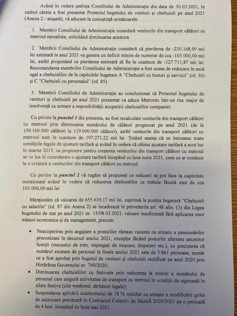 document CA metrorex