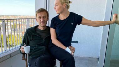 Soția lui Alexei Navalnîi, Iulia Navalnaia, spune că este tot mai îngrijorată pentru sănătatea soțului ei