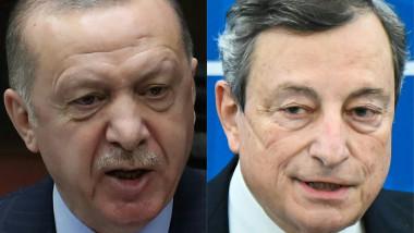 Erdogan reacționează, după ce a fost numit dictator de premierul Italiei