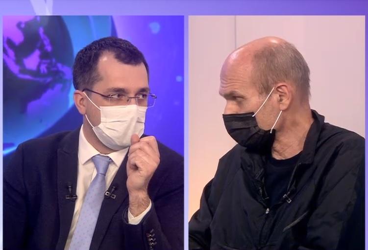 """CTP, polemica in direct cu Vlad Voiculescu la Digi24: """"Ati inundat casa, ca sa nu ia foc!"""""""