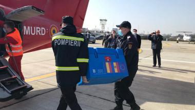 doze de vaccin AstraZeneca trimise de România pentru Republica Moldova