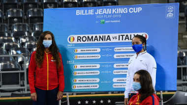 Billie Jean King Cup Play-Offs: Romania V Italy - Previews, Cluj-Napoca - Apr 2021