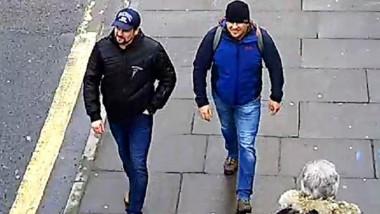 Alexander Petrov şi Ruslan Bosşirov, consideraţi a fi agenţi GRU implicaţi în explozia unui depozit de muniţii în Cehia şi otrăvirea spionului rus Skripal.