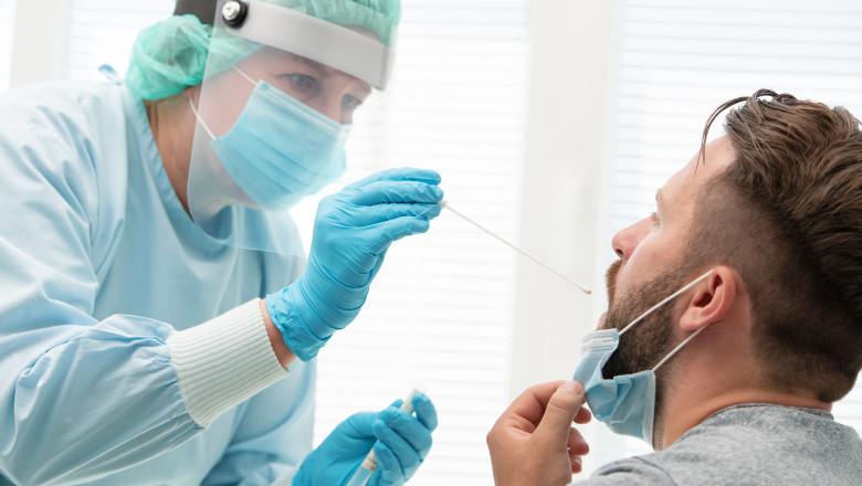 pacient testat pentru coronavirus