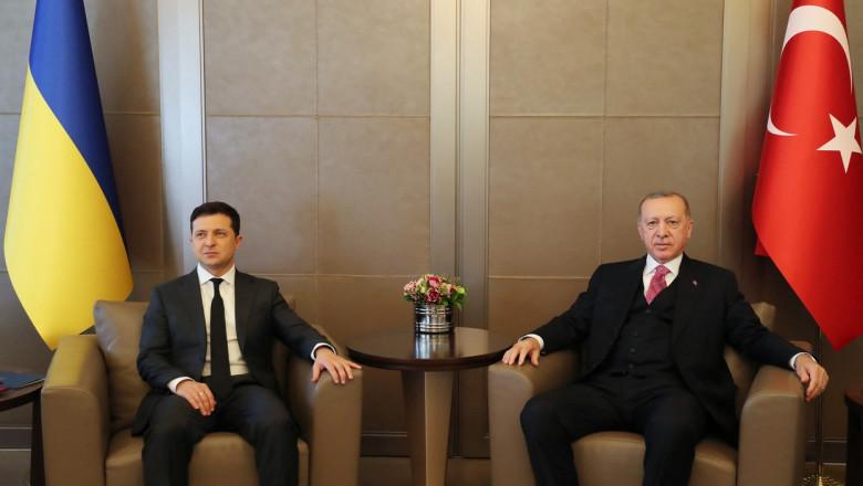 erdogan și zelenski
