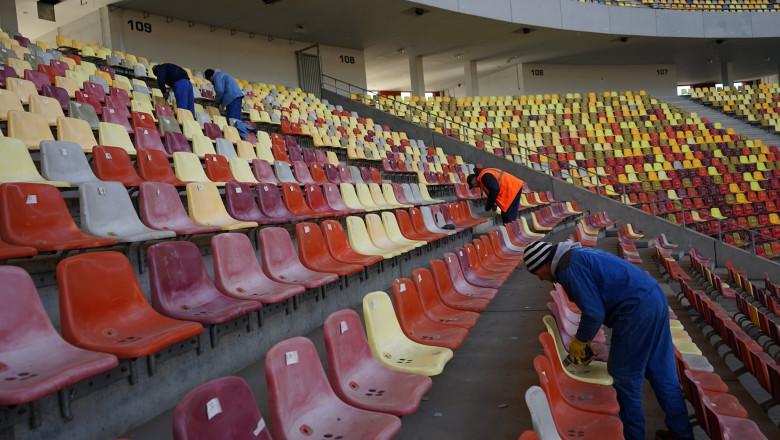 scaune arena nationala foto facebook