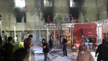 Cel puțin 23 de morți în urma unui incendiu la un spital Covid din Irak.