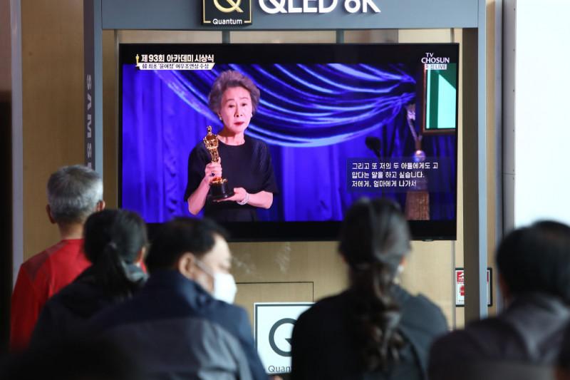 Yuh-Jung Youn a câştigat premiul Oscar pentru cea mai bună actriţă în rol secundar