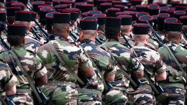 parada militara in franta