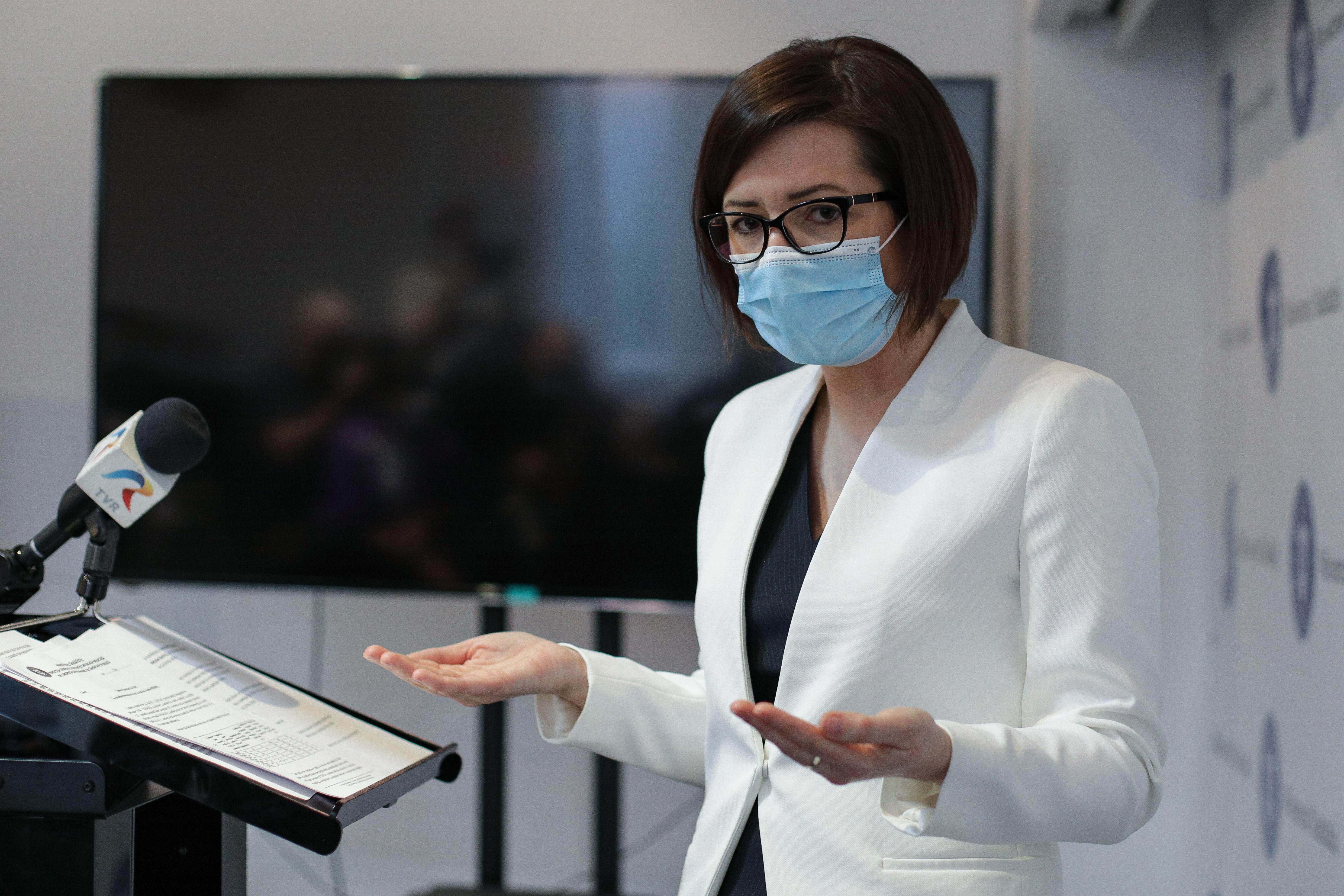 Ioana Mihăilă: Tombole și loterii pentru vaccinați, interzicerea persoanelor nevaccinate în weekend în spaţiile publice neesenţiale