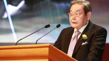 Samsung Chairman Lee Kun-Hee died at 78