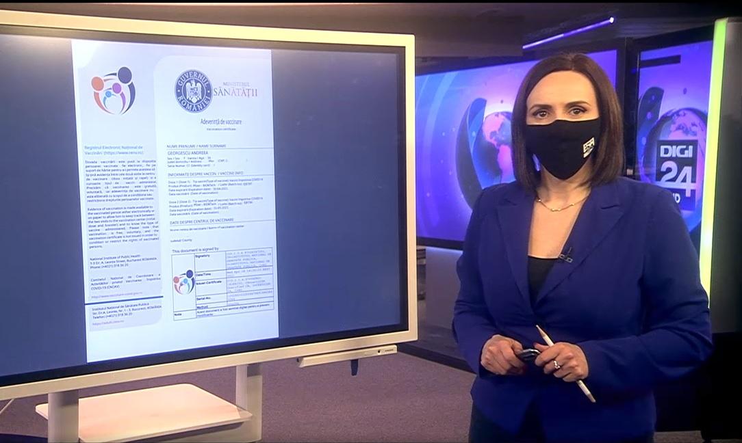 VIDEO. De unde se poate descarca adeverinta de vaccinare
