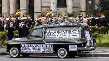 Scandalul cimitirelor pline din Roma