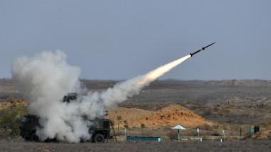 racheta sol-aer lansata de pe sistemul pantsir